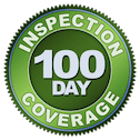 100 Day Coverage of Home Inspection